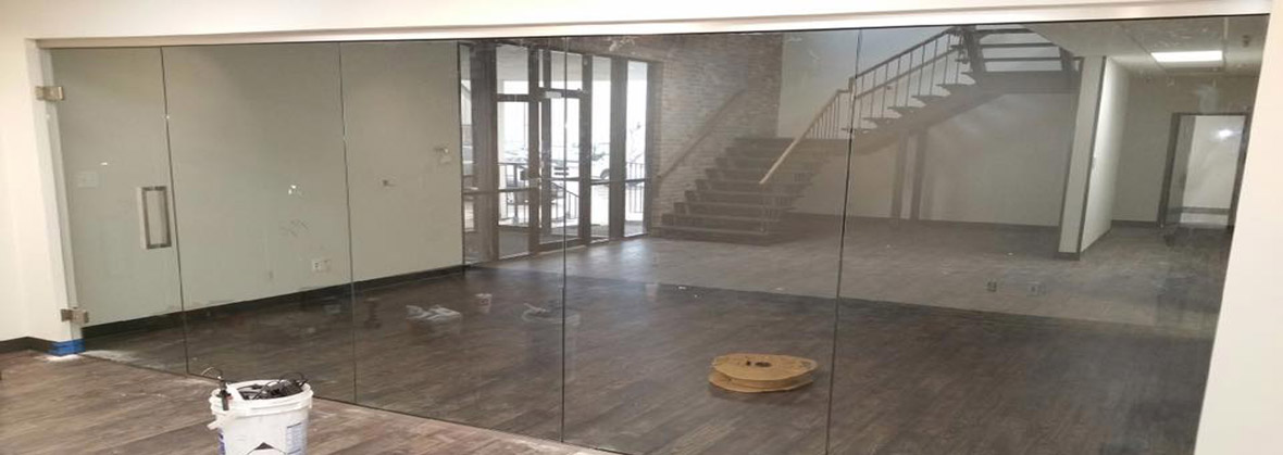 Glass Wall Office System